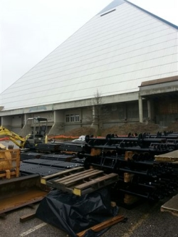 Memphis Pyramid Redevelopment Project aftermath
